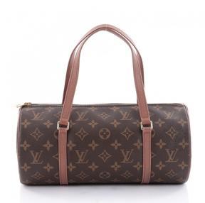 Louis Vuitton Brown Leather Handbag - BROWN - STYLE