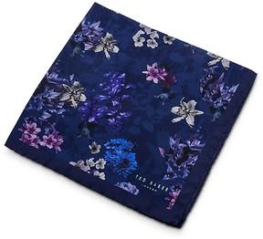 Ted Baker Sugi Floral Printed Pocket Square