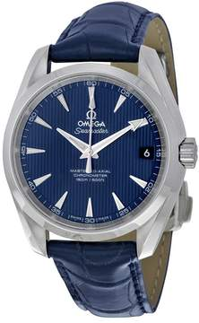 Omega Aqua Terra 150m Master Co-Axial Blue Dial Men's Watch