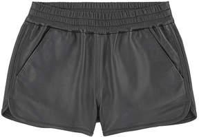 Little Remix Leather shorts