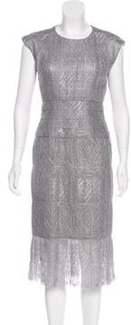 Chanel Metallic Lace Dress