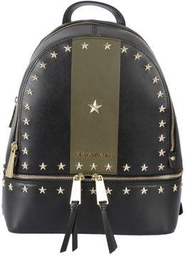 MICHAEL Michael Kors Rhea Small Zipped Backpack - NERO/VERDE/ORO - STYLE
