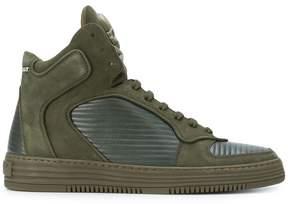Philipp Plein Inspection hi-top sneakers