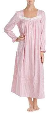 Eileen West Striped Caftan