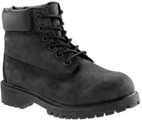 Timberland Unisex Children's 6' Premium Waterproof Boot Youth Black Nubuck Size 13 M