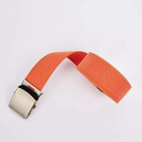 Blade + Blue Orange Cotton Web Military Belt