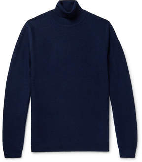 Norse Projects Marius Brushed Wool And Cashmere-Blend Rollneck Sweater