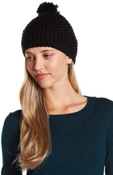 Vince Camuto Solid Knit Pompom Beanie