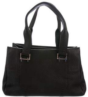 VBH Milano Leather Shoulder Bag
