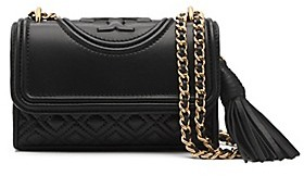 Tory Burch Fleming Micro Shoulder Bag - BLACK - STYLE