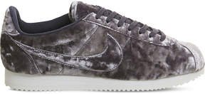 Nike Classic Cortez OG velvet trainers