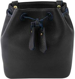Sandro Black Leather Handbag