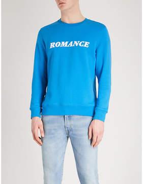 Sandro Romance flock print sweatshirt