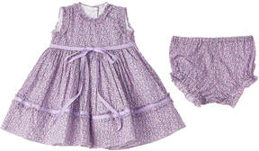 Baby CZ Ruffle Trim Dress
