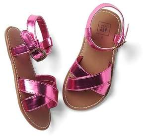 Gap Shine crisscross sandals