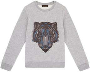 Roberto Cavalli Tiger Head Sweatshirt
