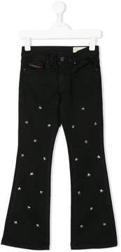 Diesel star studs jeans