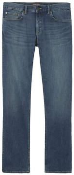 Banana Republic Straight Rapid Movement Denim Light Wash Jean