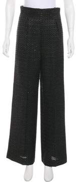 Emilia Wickstead High-Rise Jacquard Pants