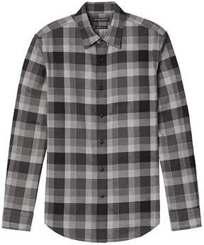 Banana Republic Grant Slim-Fit Flannel Check Shirt