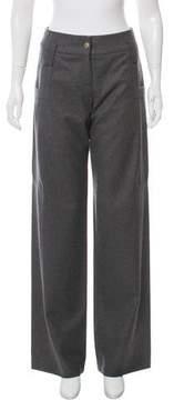Matthew Williamson High-Rise Wool Pants