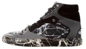 Balenciaga 2015 Marble Print Sneakers