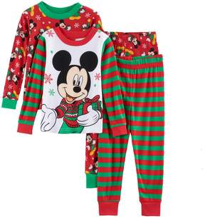 Disney Disney's Mickey Mouse Toddler Boy 4-pc. Christmas Pajama Set