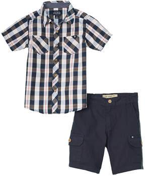 Lucky Brand Boys' 2Pc Shirt And Short Set