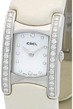Ebel Stainless Steel Diamond  Beluga Manchette Womens Watch