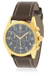 Victorinox Infantry Chronograph Leather Mens Watch 241647
