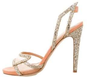 Aperlaï Glitter Multistrap Sandals