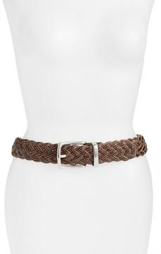 Frye Women's Braided Leather Belt