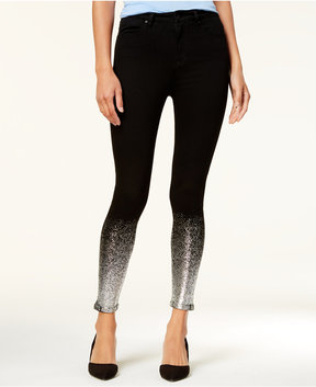 Celebrity Pink Juniors' Embellished Skinny Jeans