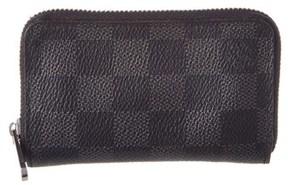 Louis Vuitton Damier Graphite Canvas Zippy Coin Wallet. - NO COLOR - STYLE