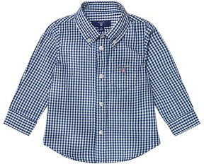 Gant Navy Classic Gingham Oxford Shirt