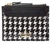 Kate Spade Cameron Street Houndstooth Lalena Faux Leather Wallet