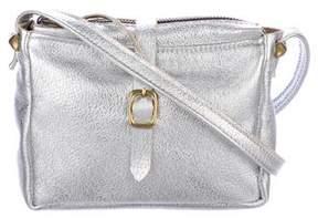 Clare Vivier Metallic Leather Zip Crossbody Bag