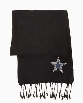 Charming charlie Dallas Cowboys Sparkling Logo Scarf