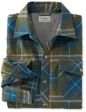 L.L. Bean Overland Performance Flannel Shirt, Lined
