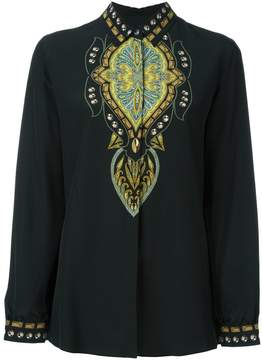Etro abstract print shirt