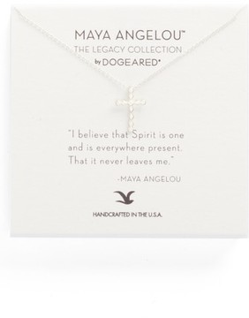 Dogeared Women's The Legacy Collection - I Believe That Spirit Is... Pendant Necklace