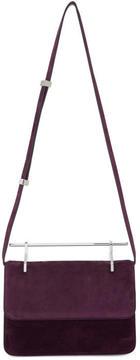 M2Malletier Purple Suede La Fleur du Mal Bag