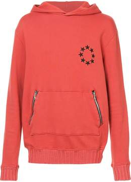 Amiri star circle hoodie