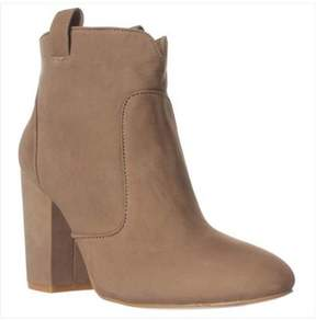 French Connection Livvy Ankle Boots, Olive Branch.