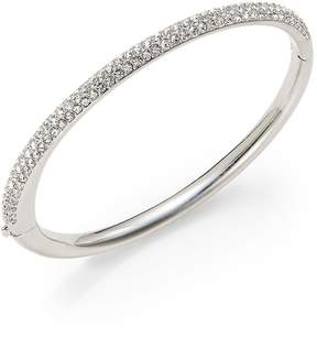 Adriana Orsini Women's Half-Pave Bangle Bracelet