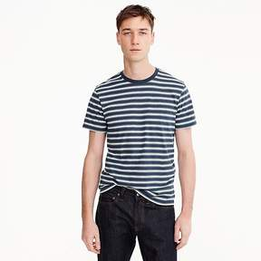 J.Crew Tall Mercantile Broken-in T-shirt in navy stripe