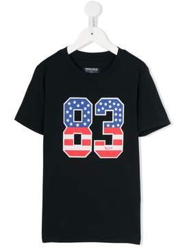 Woolrich Kids 83 print T-shirt