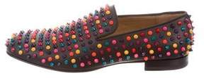 Christian Louboutin Rollerboy Spikes Flat Loafers