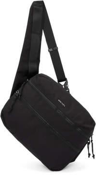 Diesel Black F-Urbhanity Cross Body Backpack
