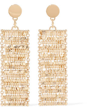 Eddie Borgo Fleece Gold-plated Cubic Zirconia Earrings